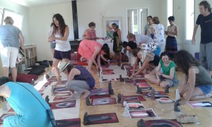 30 therapists took part on the course